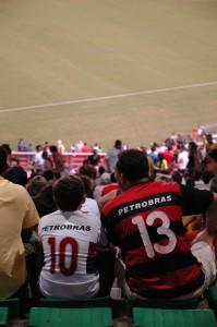 W杯決勝の舞台となるリオデジャネイロのマラカナンスタジアムにて