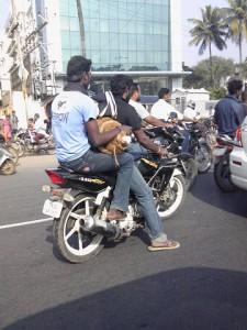 """Biker in India"""