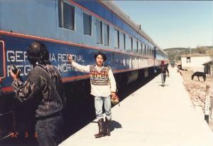 21年前のメキシコ旅行にて