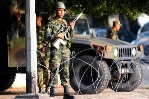 内務省を防衛する軍隊