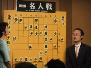 2011年名人戦第一局大盤解説会@椿山荘の写真