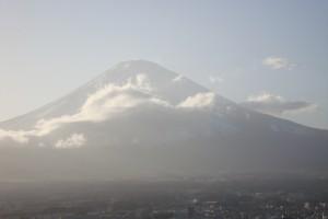 日本の象徴として、富士山